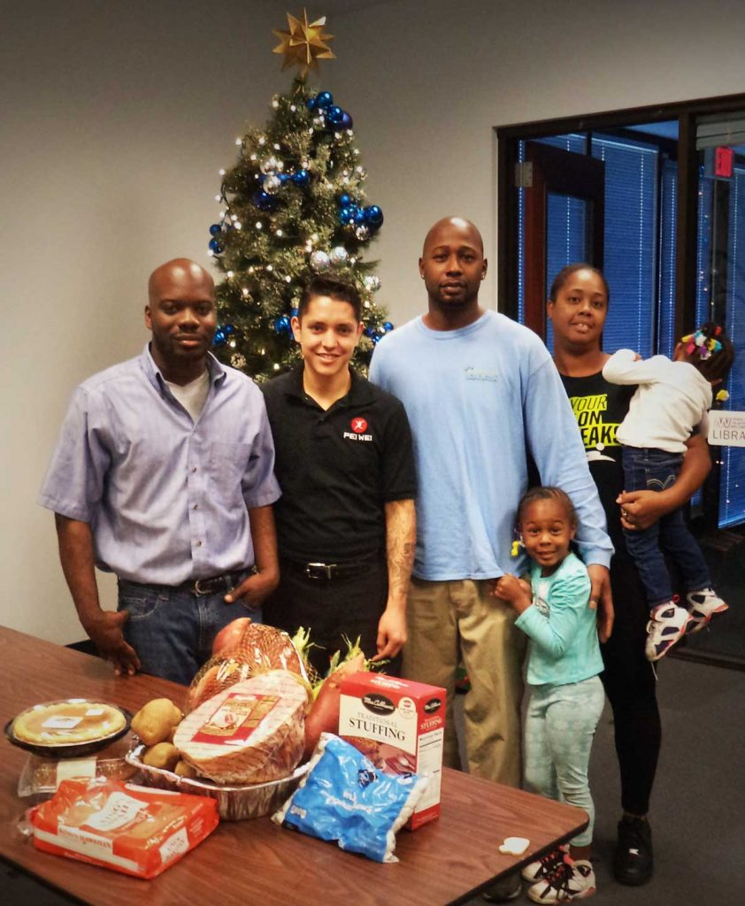 FIT employer partner Pei Wei Asian Diner provides Thanksgiving dinner to Las Vegas family