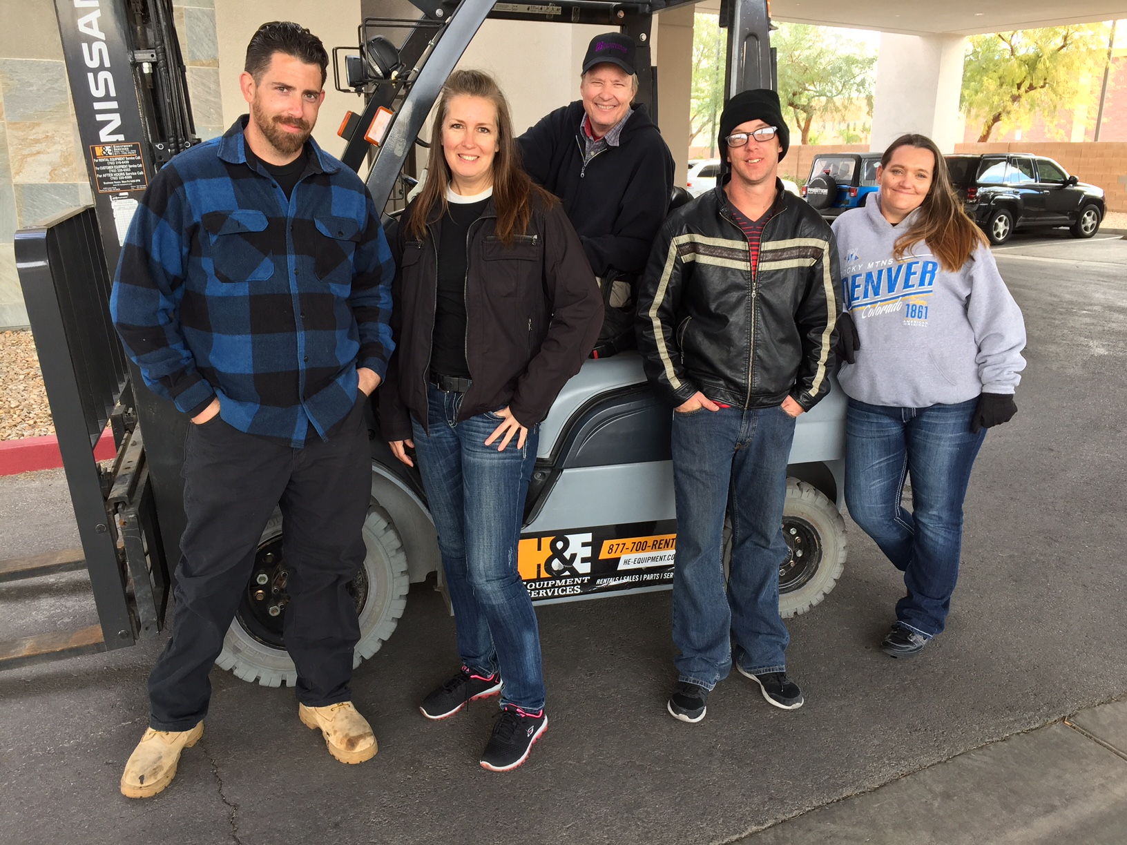 Standards Of Excellence Academy Forklift Operating Class Draws Men
